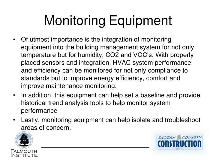 MonitoringEquipment