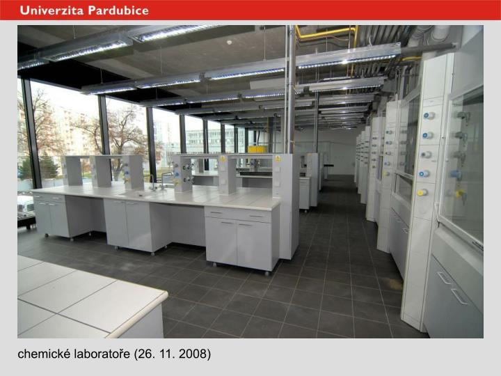 chemické laboratoře (26. 11. 2008)