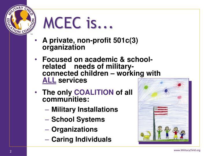 MCEC is...