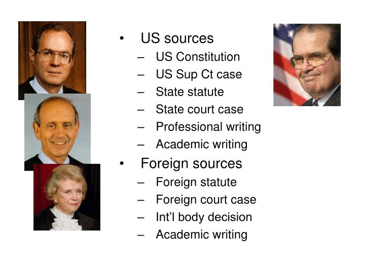 US sources