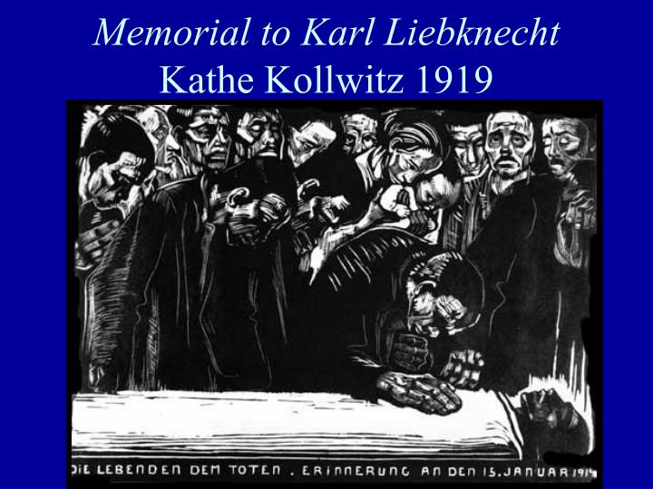Memorial to Karl Liebknecht