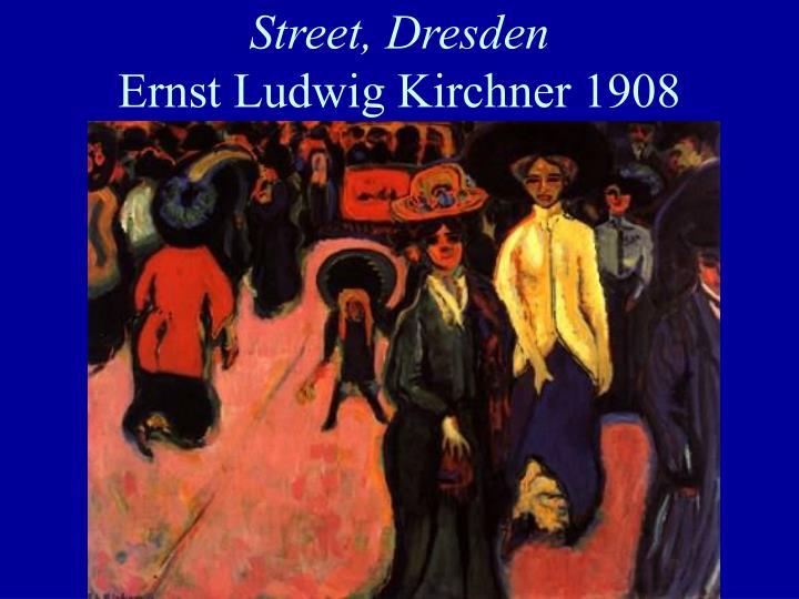 Street, Dresden