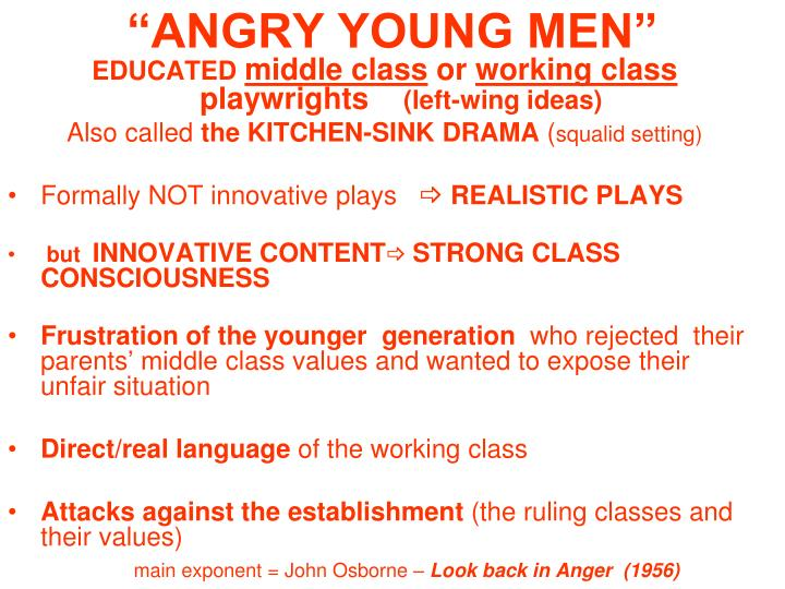 """ANGRY YOUNG MEN"""