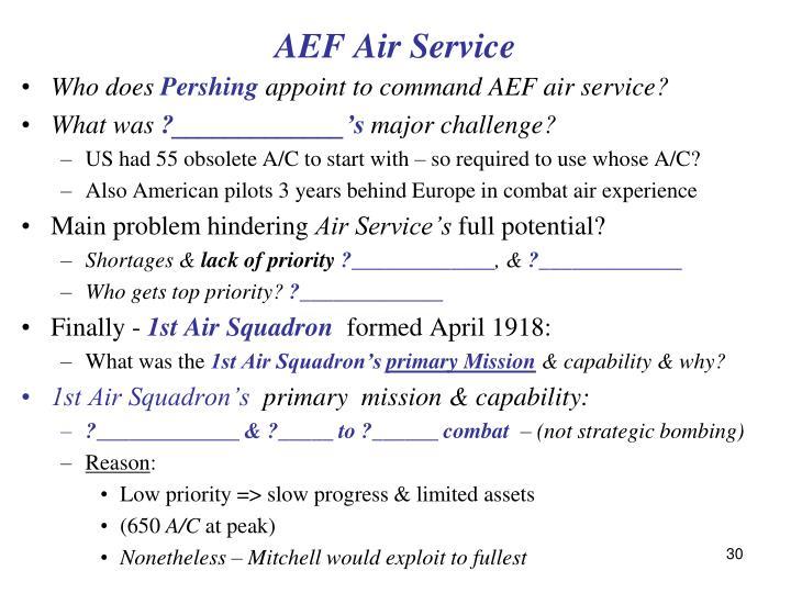 AEF Air Service