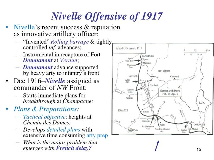 Nivelle Offensive of 1917