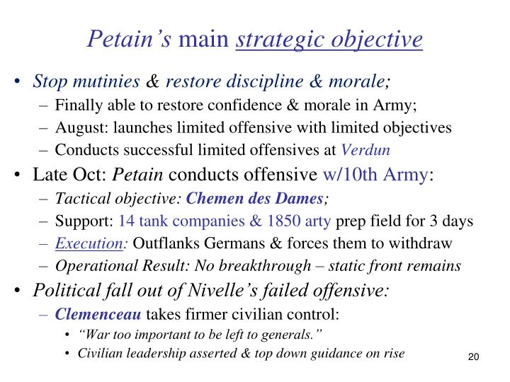 Petain's