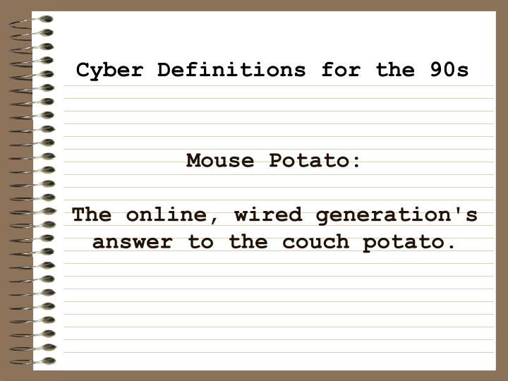 Mouse Potato: