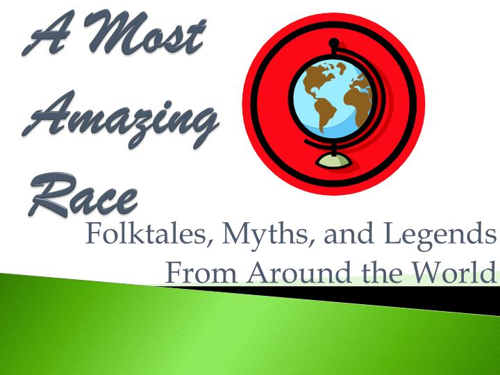 A most amazing race