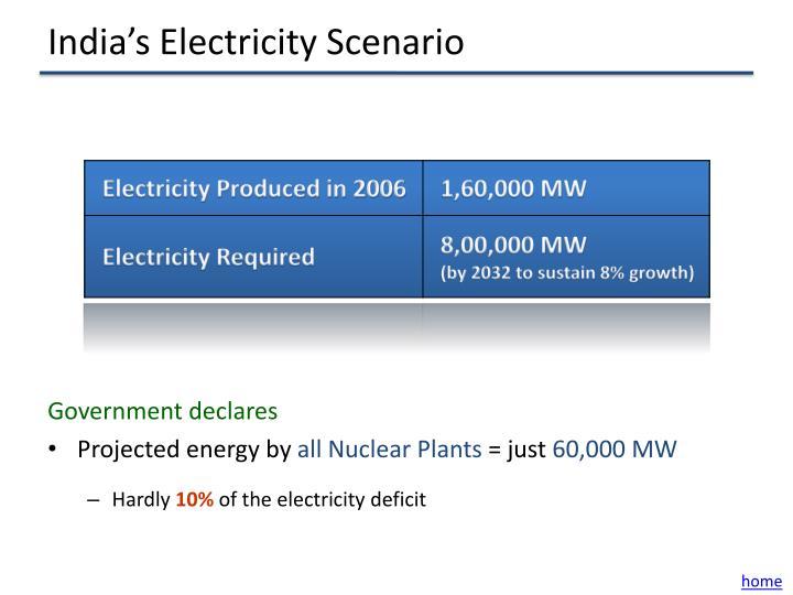 India's Electricity Scenario