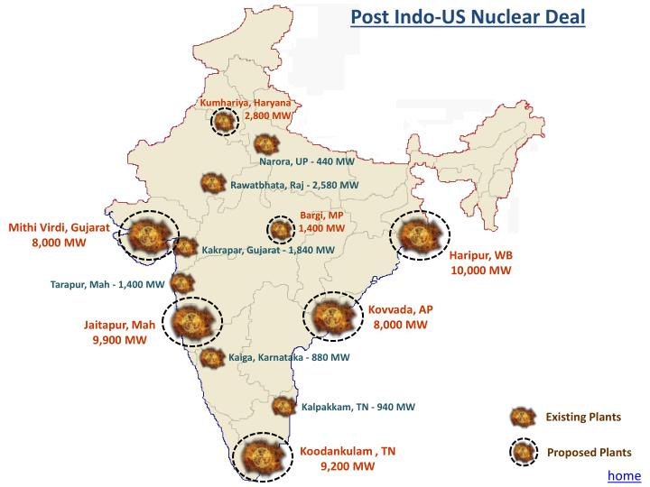 Post Indo-US Nuclear Deal