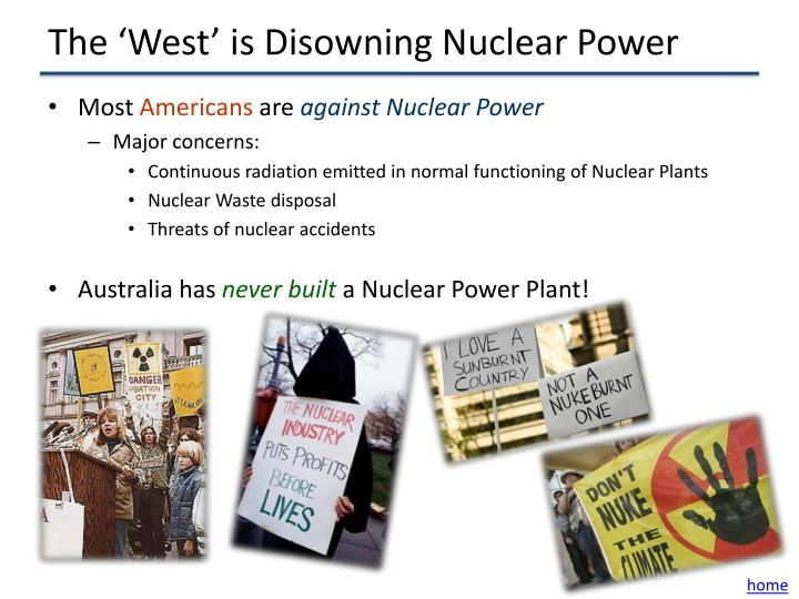 The 'West' is Disowning Nuclear Power