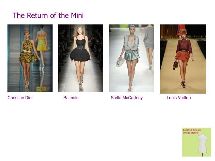 The Return of the Mini