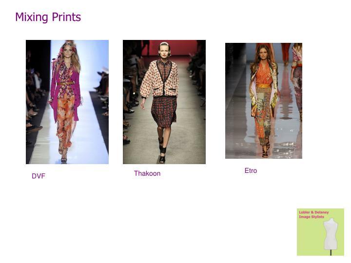 Mixing Prints