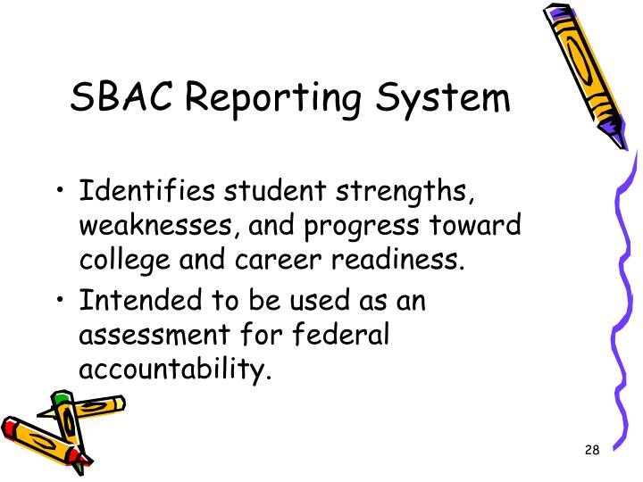 SBAC Reporting System