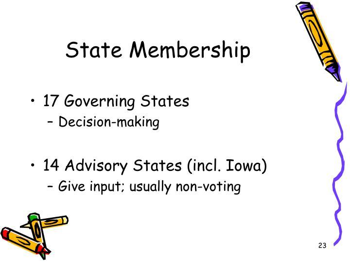 State Membership