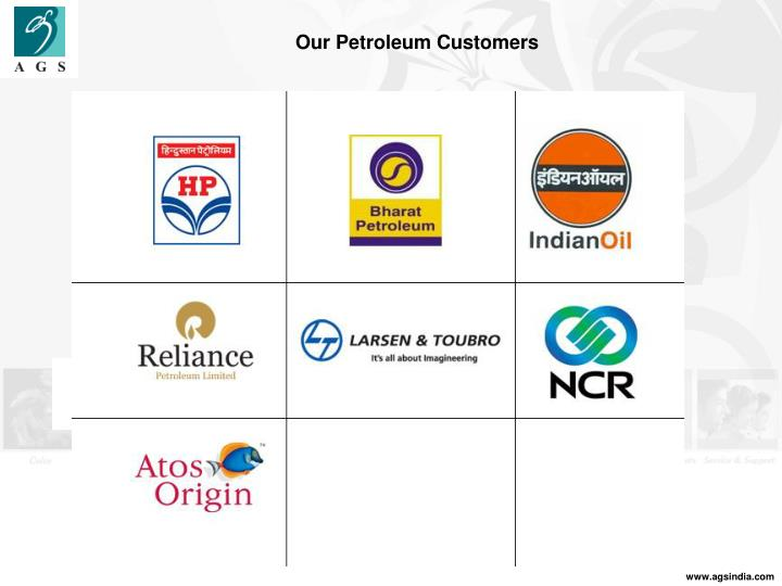 Our Petroleum Customers