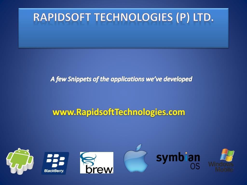 Rapidsoft Technologies (P) Ltd.