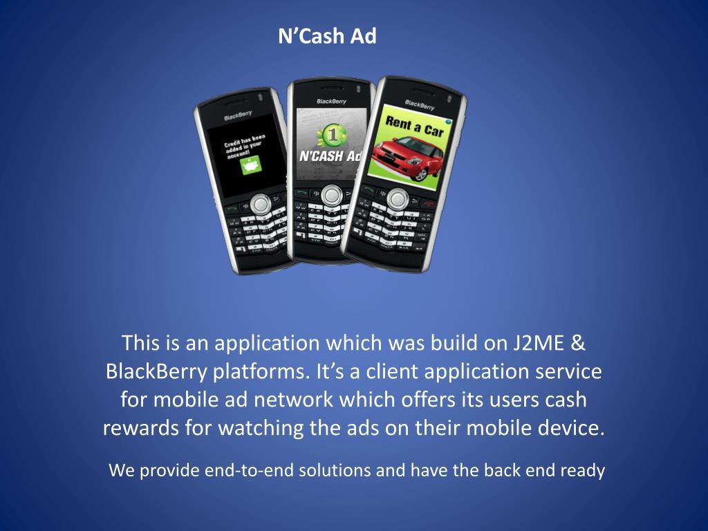 N'Cash Ad