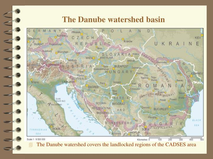 The Danube watershed basin