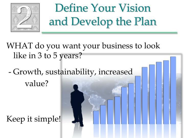 Vision Business Plan