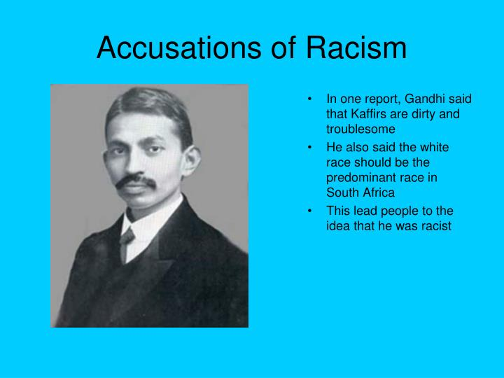 Accusations of Racism