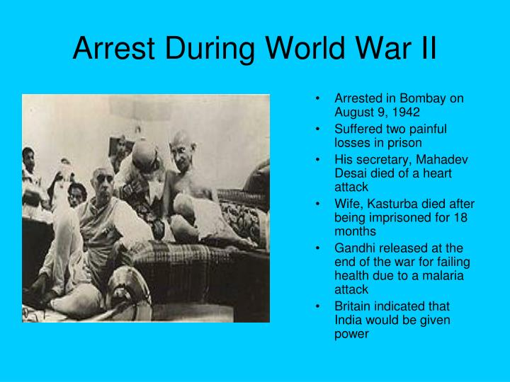 Arrest During World War II