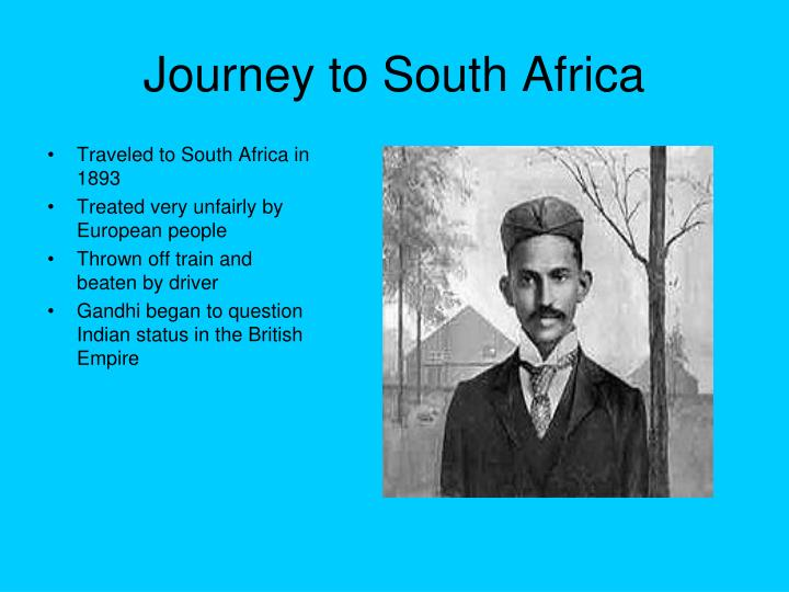 Journey to South Africa