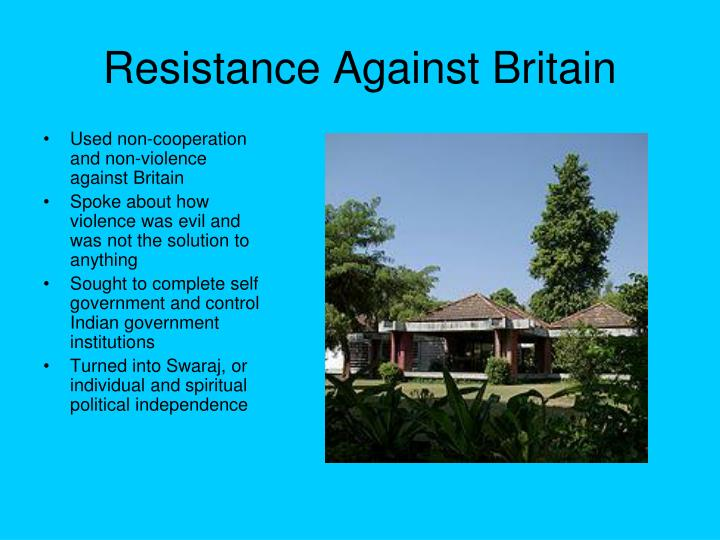 Resistance Against Britain