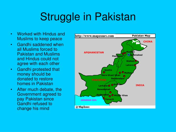 Struggle in Pakistan