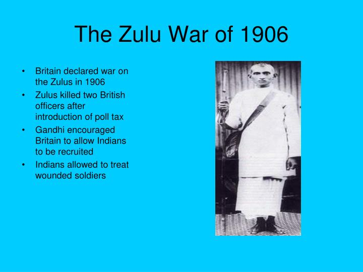 The Zulu War of 1906