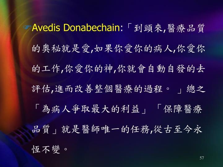 Avedis Donabechain