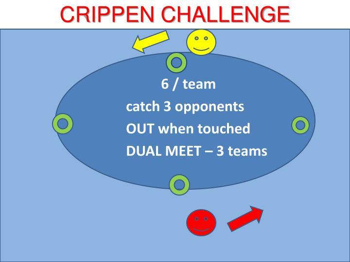 CRIPPEN CHALLENGE