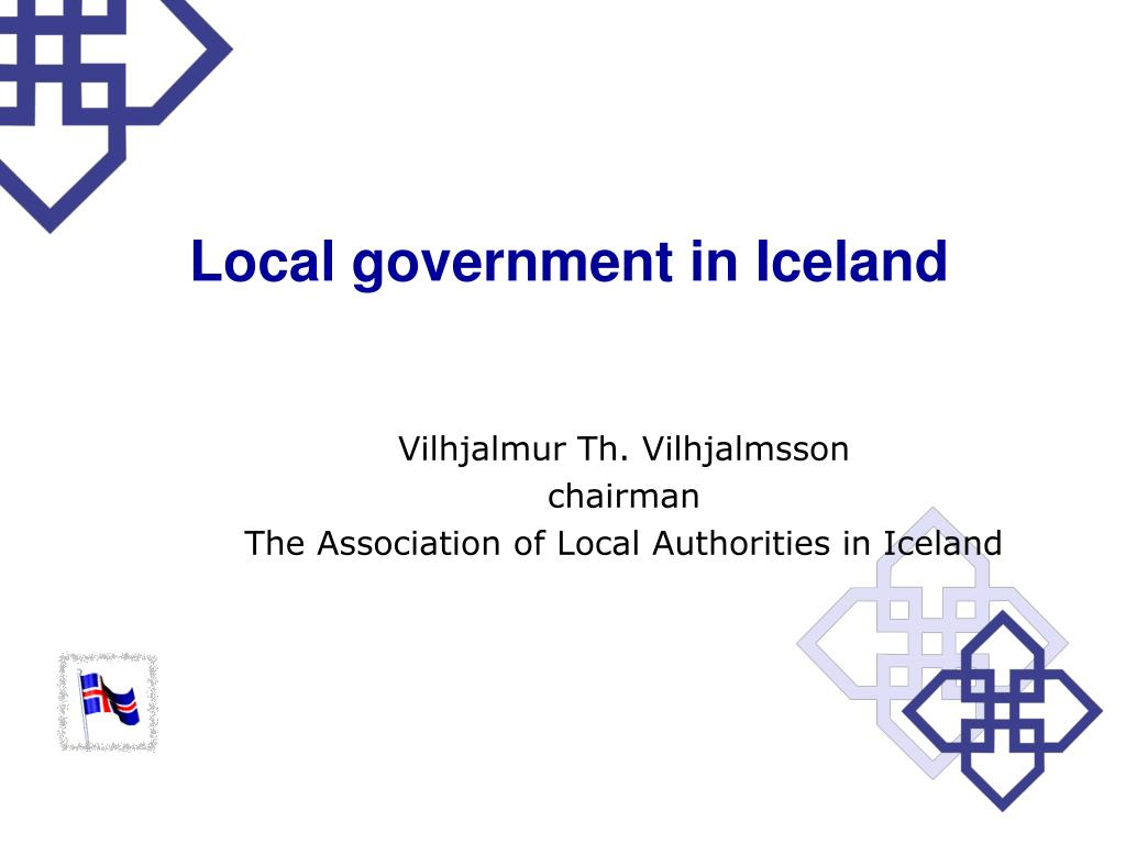 Local government in Iceland