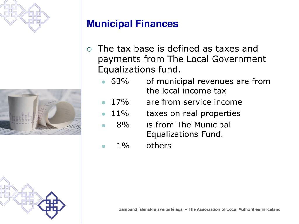 Municipal Finances