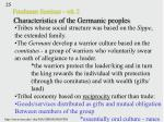 freshman seminar wk 2 characteristics of the germanic peoples