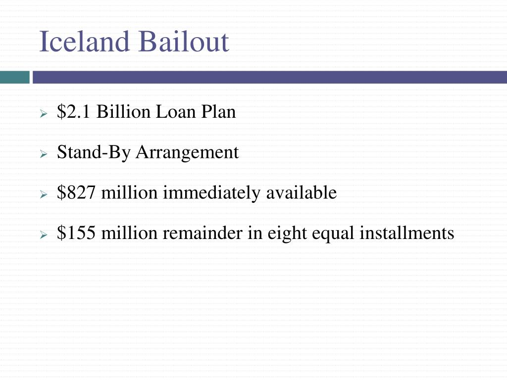 Iceland Bailout