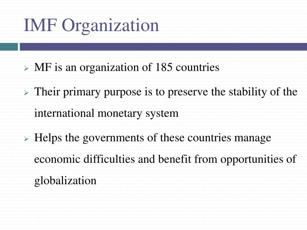 IMF Organization