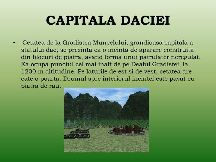 CAPITALA DACIEI
