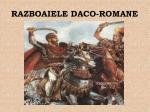 razboaiele daco romane