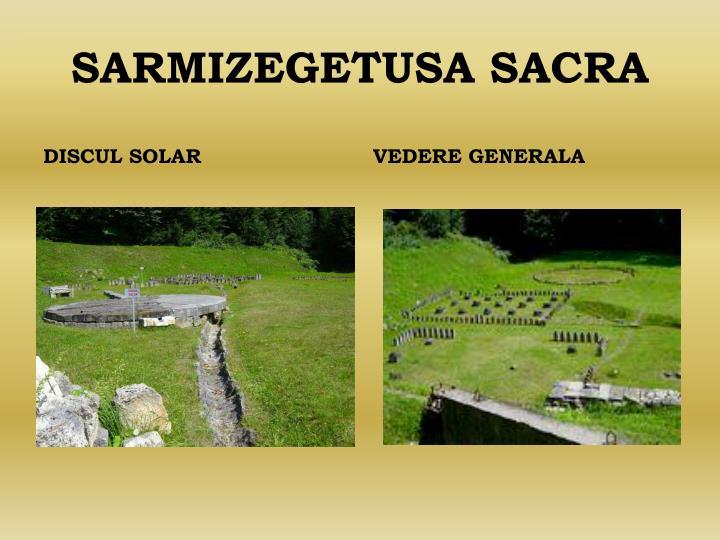 SARMIZEGETUSA SACRA