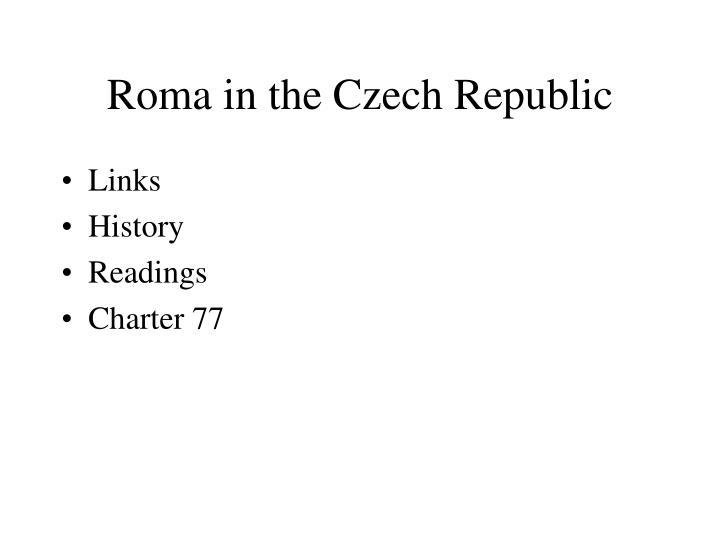 Roma in the Czech Republic