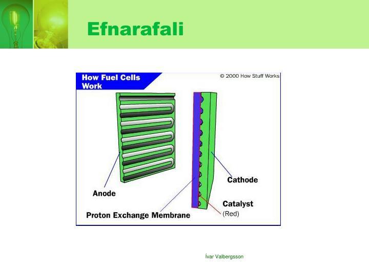 Efnarafali