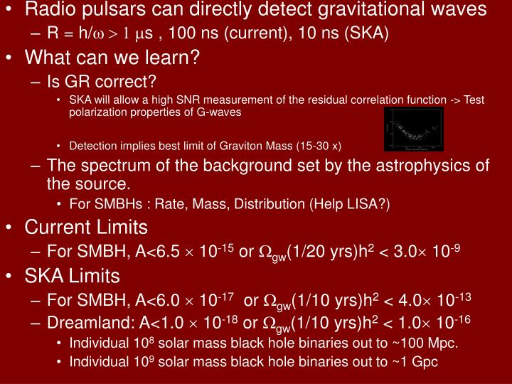 Radio pulsars can directly detect gravitational waves