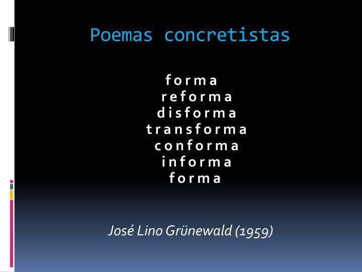 Poemas concretistas