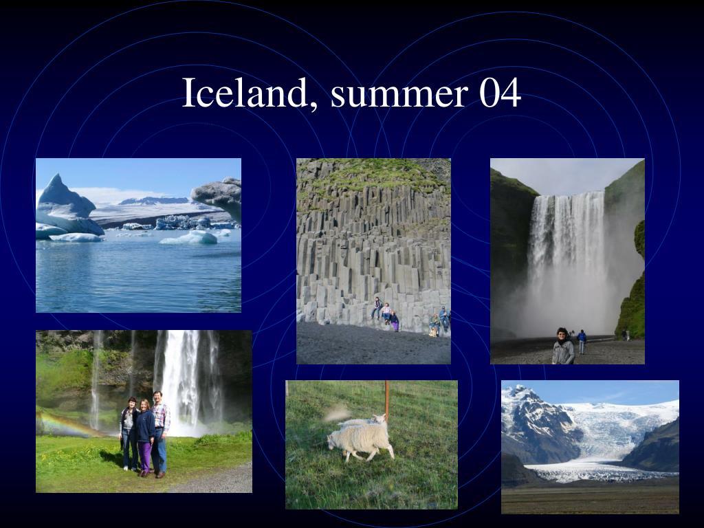 Iceland, summer 04