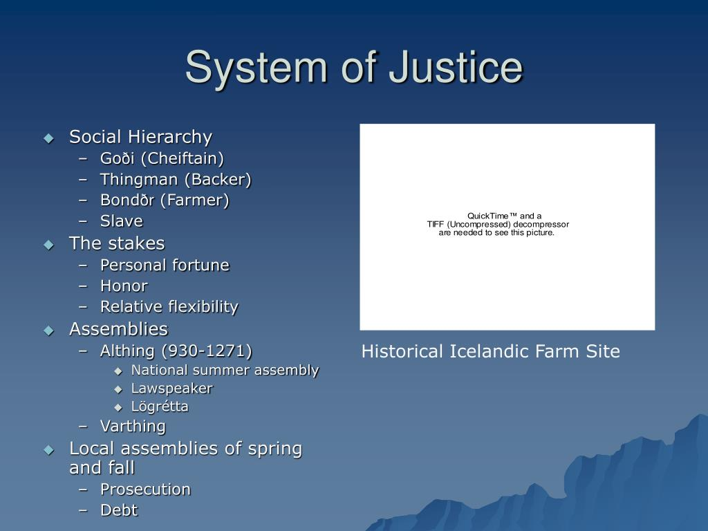 System of Justice