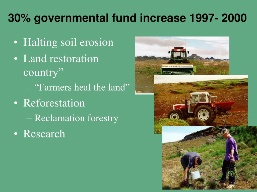 30% governmental fund increase 1997- 2000