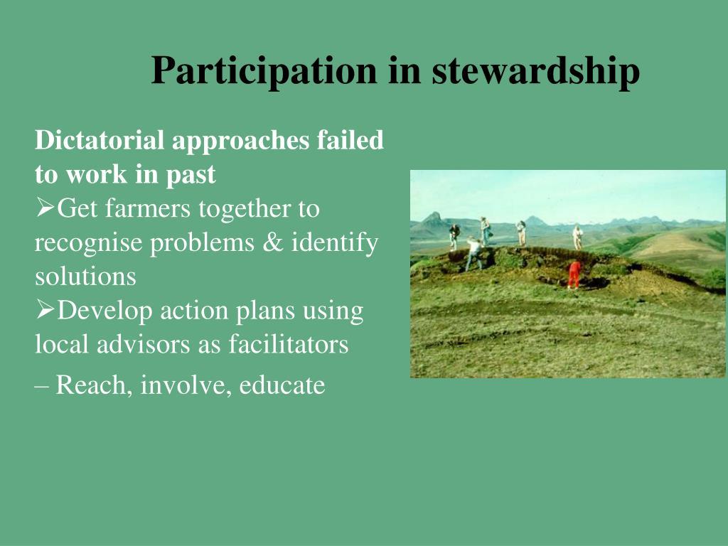 Participation in stewardship