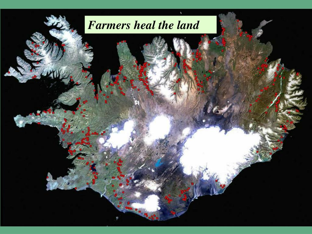 Farmers heal the land