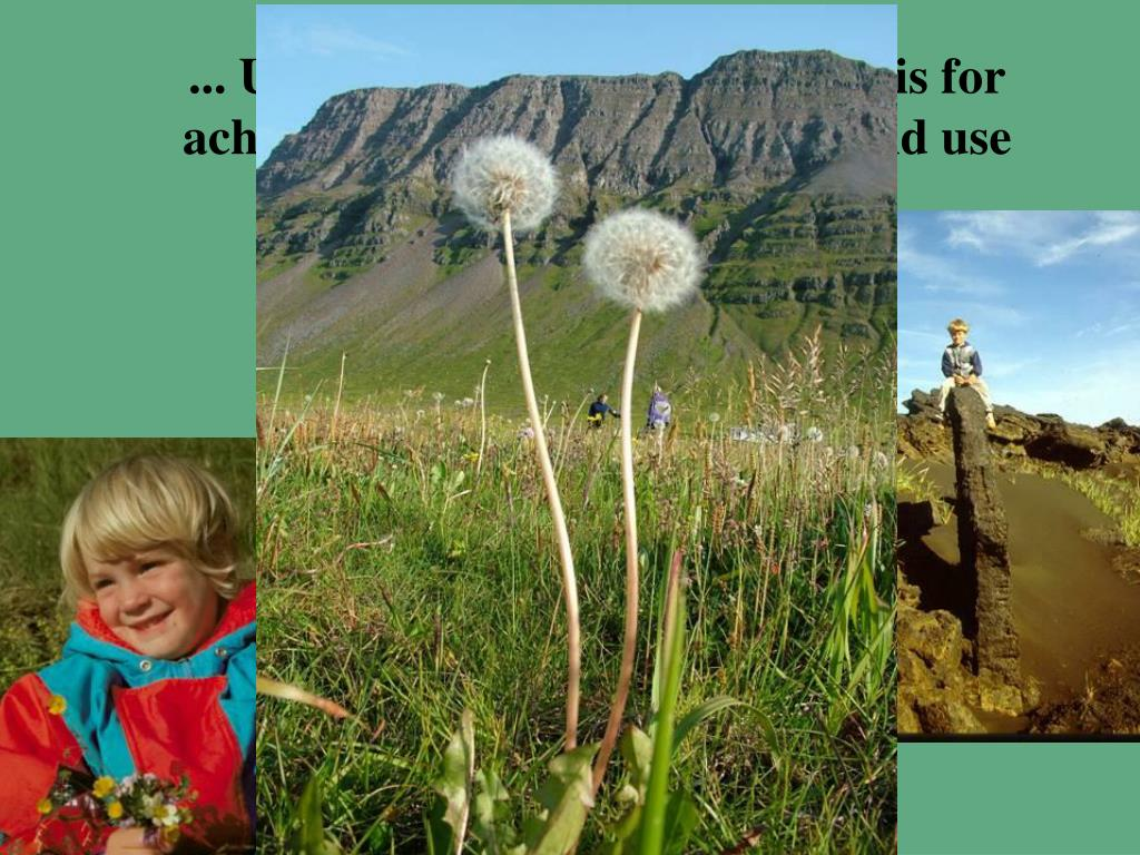 ... Ultimately, the underlying basis for achieving goals of sustainable land use